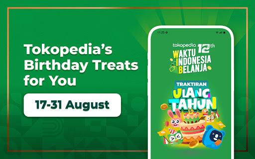 Tokopedia 12th Anniversary apktram screenshots 17