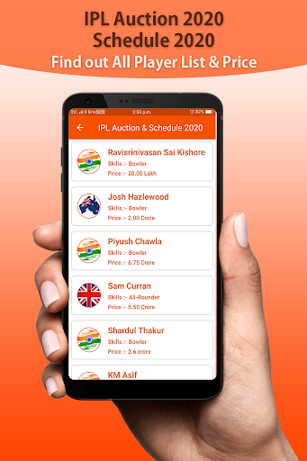 ipl schedule ipl 2020 & player list , team detail screenshot 3