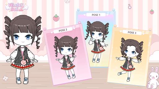 Vlinder Doll 2 - dress up games, avatar maker 1.0.6 screenshots 1