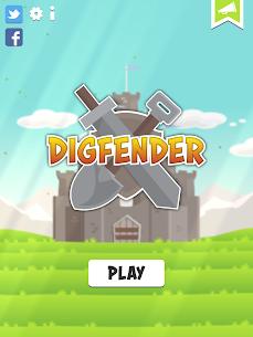 Digfender Mod Apk 1.4.6 (A Lot of Diamonds) 6