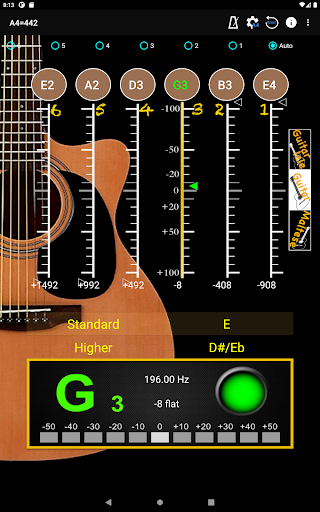 GuitarTuner - Tuner for Guitar apktram screenshots 14