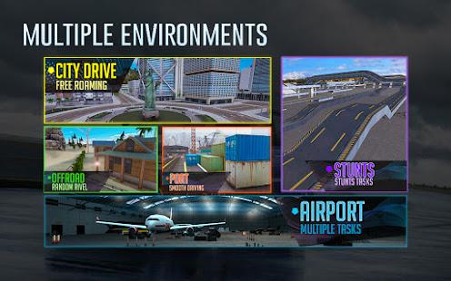 Crazy Car Driving & City Stunts: Rover Sport 1.18 Screenshots 4