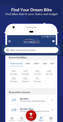PakWheels: Buy & Sell Cars, Bikes and Auto Parts 11.7.5 Screenshots 7