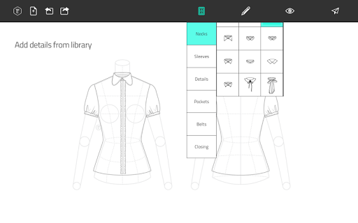 Fashion Design Flat Sketch 1.0 Screenshots 8