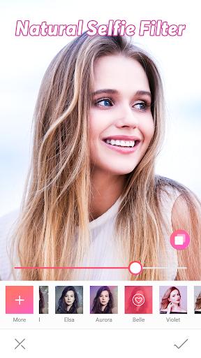 Candy selfie -beauty camera, sweet selfie 3.3.1565 screenshots 1