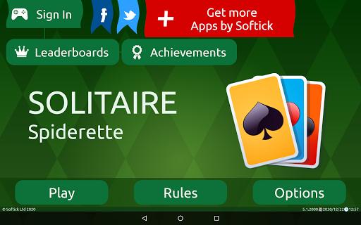 Spiderette Solitaire  screenshots 24