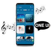 Music player One UI S10 S10+