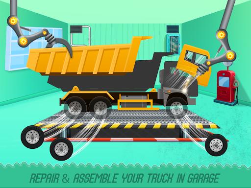 Kids Truck Adventure: Road Rescue Car Wash Repair  apktcs 1