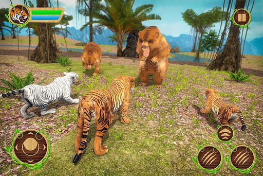 Tiger Family Simulator: Angry Tiger Games apkdebit screenshots 2