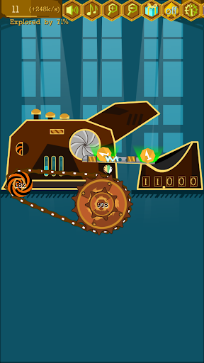 Steampunk Idle Spinner: Coin Factory Machines 1.9.3 screenshots 2