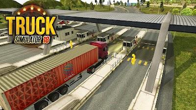 Truck Simulator 2018 : Europe Android App Screenshot