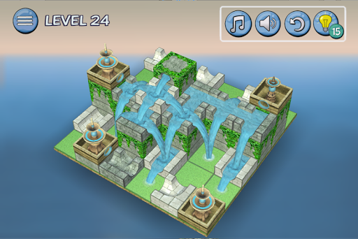 Flow Water Fountain 3D Puzzle 1.2 Screenshots 5