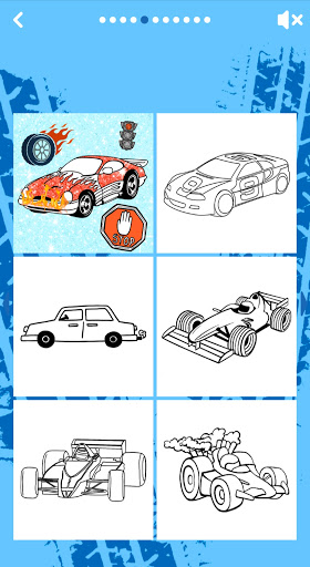 Car Coloring Game offline🚗 1.6 screenshots 1
