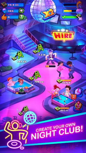 Party Clicker u2014 Idle Nightclub Game 1.7.33 screenshots 1