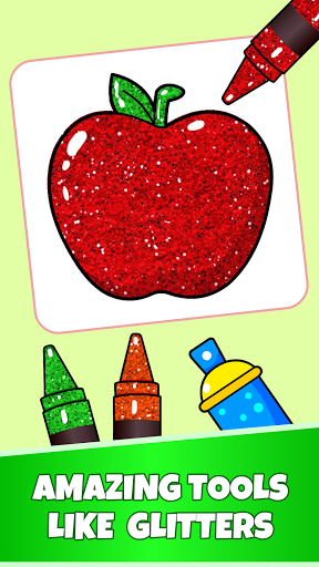 Fruits Coloring Pages - Game for Preschool Kids 1.0 screenshots 4