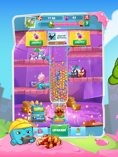 Om Nom Idle Candy Factory android2mod screenshots 9
