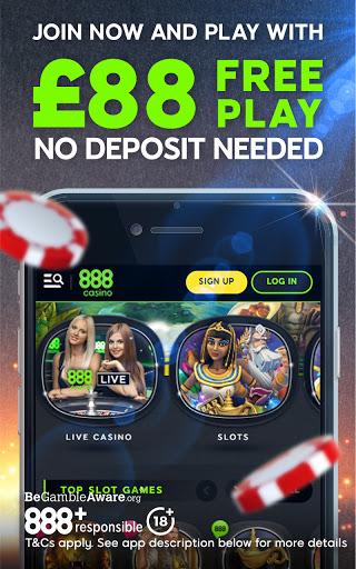 888 Casino: Slots, Live Roulette & Blackjack Games  screenshots 1