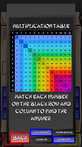 Multiplication Ninja 31 screenshots 12