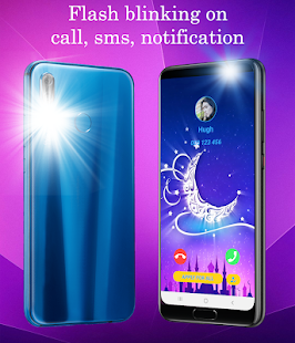 Flash notification for all call and message