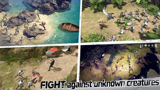 LOST in Blue: Survive the Zombie Islands apktram screenshots 2