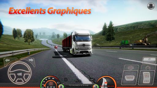 Télécharger Simulateur de Camion : Europe 2 APK MOD (Astuce) screenshots 1