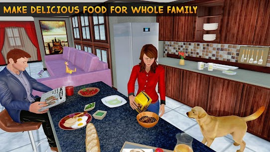 Family Pet Dog Home Adventure Game 2
