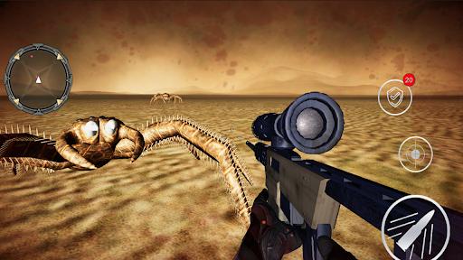 Monster Spider Shooting World Hunter -Spider Games screenshots 4