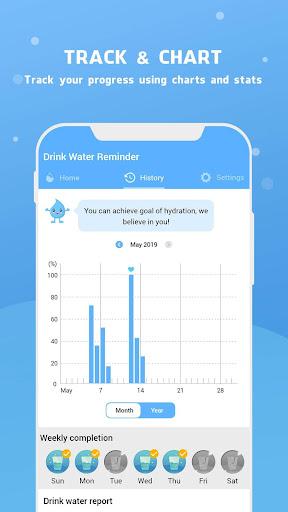 Water Reminder - Remind Drink Water 15.0 Screenshots 14