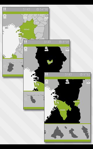 Enjoy Learning Osaka Map Puzzle 3.2.3 screenshots 12