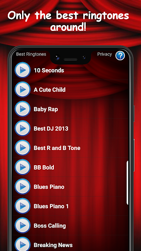Best Ringtones Free android2mod screenshots 1