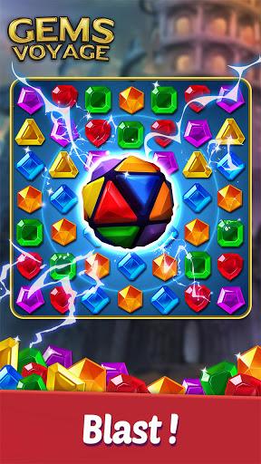 Gems Voyage - Match 3 & Jewel Blast 1.0.20 screenshots 6