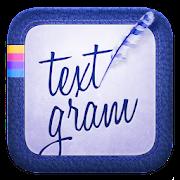 Textgram : Text Over Photo & Graphic Design Maker