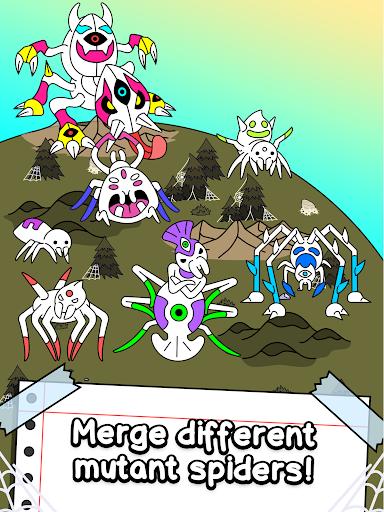 Spider Evolution - Merge & Create Mutant Bugs screenshots 11