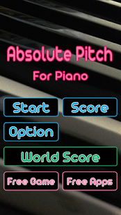 Piano Perfect Pitch Tap Fast - Learn absolute ear. 3.5.8 Screenshots 3
