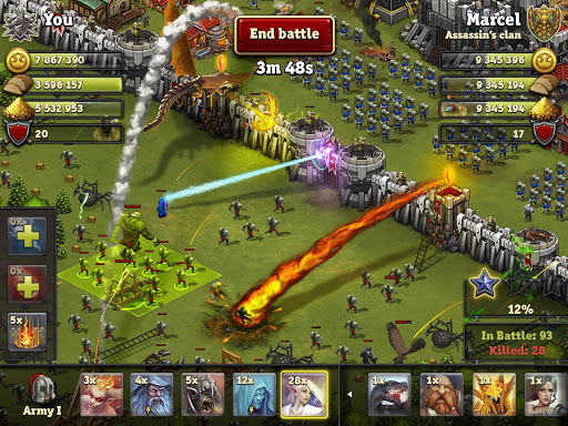 Throne Rush 5.23.2 screenshots 17