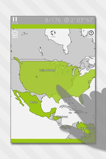 Enjoy Learning World Map Puzzle 3.4.0 screenshots 1