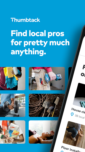 Thumbtack: Hire Pros - Cleaners, Handymen, Movers  Screenshots 1