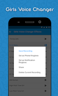 Girls Voice Changer - Edit Pitch & Sounds Updates Screenshot