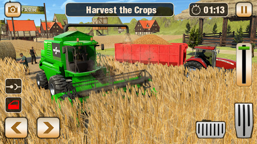 Real Tractor Driving Games- Tractor Games 1.0.14 screenshots 18
