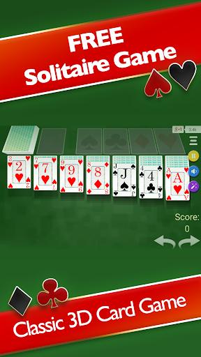 Solitaire 3D - Solitaire Game modiapk screenshots 1