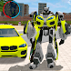 Green Robot Machin Car Transformer Robot Car Games