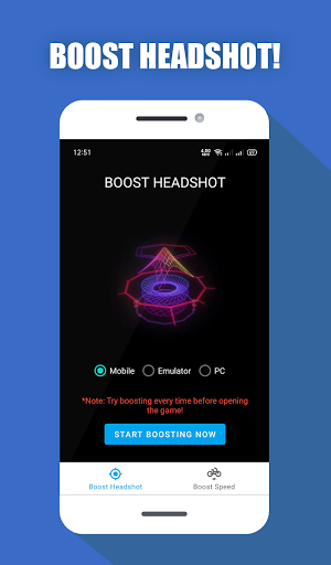 Download APK: Headshot Booster for FF – A Real GFX Tool v1.1 [Paid] [Sap]