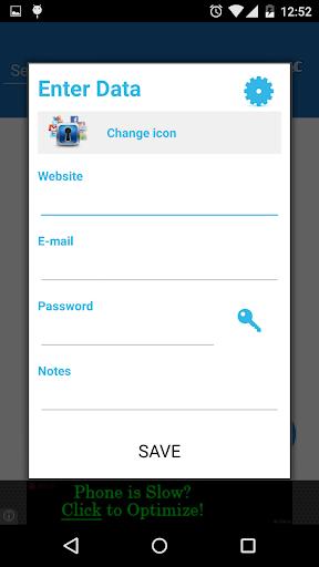 Password Saver 5.0 Screenshots 8