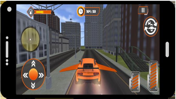 Flying Car Modern Simulator 2021 screenshot 2