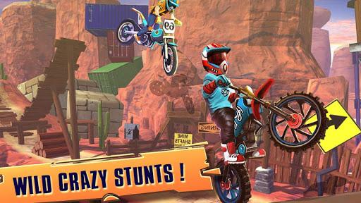 Télécharger course vélo d'essai: xtreme stunt bike jeux course mod apk screenshots 3