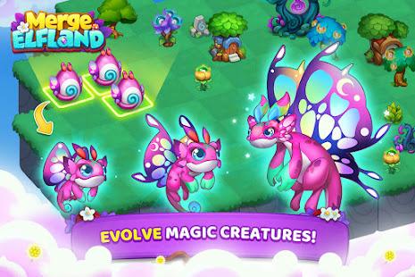 Merge Elfland - Magic merging and matching game