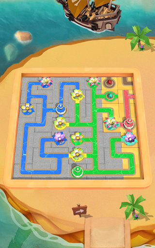 Flow Water Connect Puzzle  screenshots 15