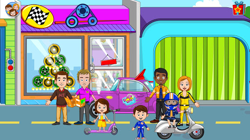 My Town: Car Garage. Wash & Fix kids Car Game Free 1.09 screenshots 5