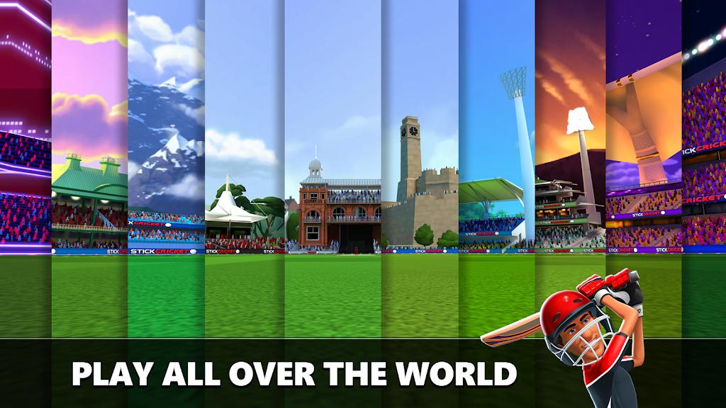 Stick Cricket Live 21 - Play 1v1 Cricket Games poster 5