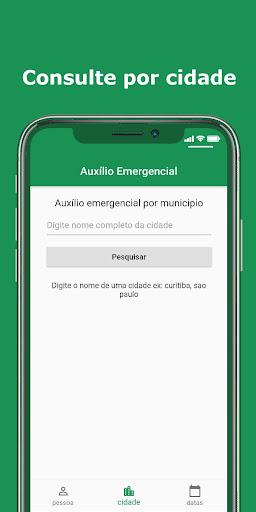 Foto do Consulta Auxilio Emergencial